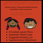 Upstander Week Handbook/Lesson Plans