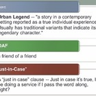Urban Legends Powerpoint - Creative writing and research a