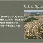 Urban Sprawl PowerPoint