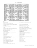 U.S. History -  Industrialism Crossword Puzzle