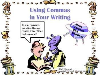 Using Commas in Your Writing
