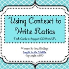 Using Context to Write Ratios
