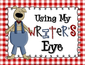 Using My Writer's Eye: I SEE Posters (Dogs)