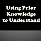 Using Prior Knowledge to Understand Reading Strategy PowerPoint