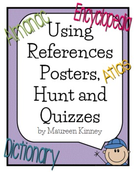 Reference Skills Posters and Assessments
