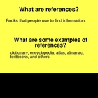 Using References PowerPoint