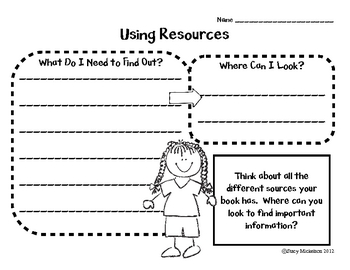 Using Resources - FREEBIE!