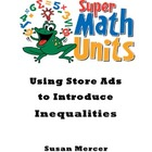 Using Store Ads to Introduce Inequalities