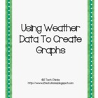 Using Weather Data to Create Graphs