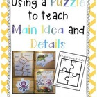 Using a Puzzle to Teach Main Idea and Details