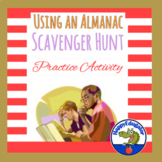 Using an Almanac Scavenger Hunt