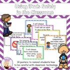 Using iPads Safely Posters