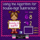 Using the Algorithm for Double Digit Subtraction Slideshow {CCSS}