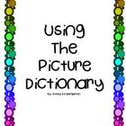 Using the Picture Dictionary