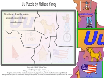 Uu Puzzle by Melissa Yancy for mac