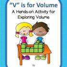 """V"" is for Volume - finding volume using cubes - no multip"