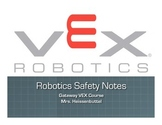 VEX Robotics Safety Unit