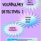 VOCABULARY DETECTIVES FREE COUPONS
