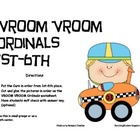 VROOM VROOM ORDINAL NUMBERS 1ST-6TH