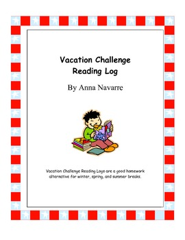Vacation Challenge Reading Log