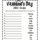 Valentine ABC {Freebie!}