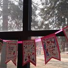 Valentine Art Projects-3 Hearts and Friendship Banner