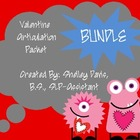 Valentine Articulation Pack Bundle- SH, CH, TH, R, S, and L
