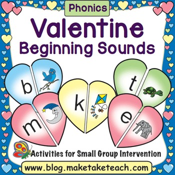 Valentine Beginning Sound Match