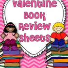 Valentine Book Review Sheets {Freebie}