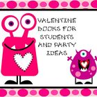 Valentine Books and Party Idea