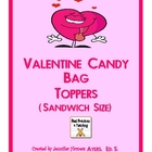 Valentine Candy Bag Toppers