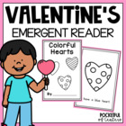 Valentine Color Book {Emergent Reader}