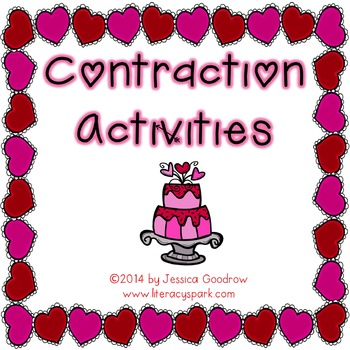 Valentine Contractions ~ 4 Activities