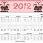 Valentine Couple 2012 Yearly Calender-African American