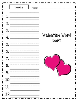 Valentine Exchange Sorting