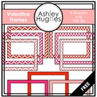Valentine Frames {Graphics for Commercial Use}