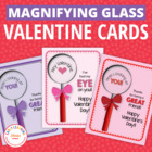 Valentine Fun:  Make Your Own Magnifying Glass Valentine
