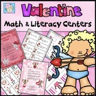Valentine Goodies for Math and Literacy