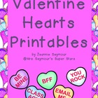 Valentine Hearts Printables