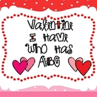 "Valentine ""I Have Who Has ABC"""