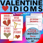 Valentine Idioms Craftivity, Bulletin Board Set &amp; More! Co