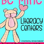 Valentine Literacy Centers {Common Core Aligned}