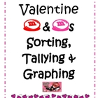 Valentine M&amp;M Sorting, Tallying &amp; Graphing Center