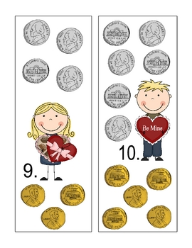 Valentine Math Centers and Pocket Chart Activities