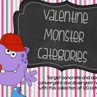 Valentine Monster Categories