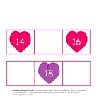 Valentine Number Sequence Game