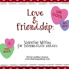 Valentine Opinion Writing {Love & Friendship}