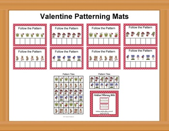 Valentine Patterning Mats