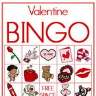 Valentine Picture Bingo (Classroom Set of Boards)