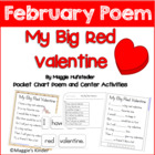 Valentine Poem Pocket Chart Activity